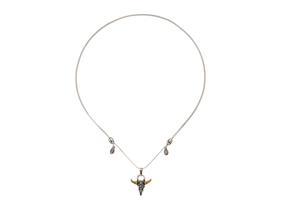 Alex and Ani - Spirited Skull Expandable Necklace
