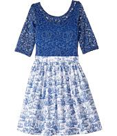 fiveloaves twofish - Wanderlust Toile Dress (Little Kids/Big Kids)