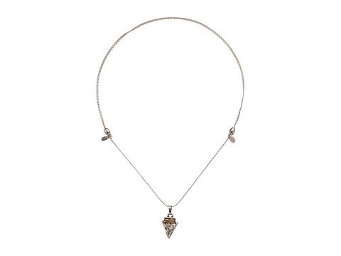 Alex and Ani Arrowhead Expandable Necklace - Rafaelian Silver
