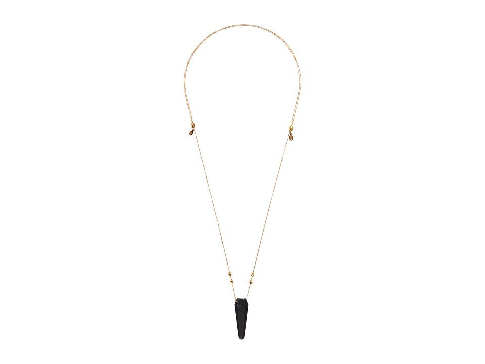 Alex and Ani - Moss Agate Pendulum Necklace