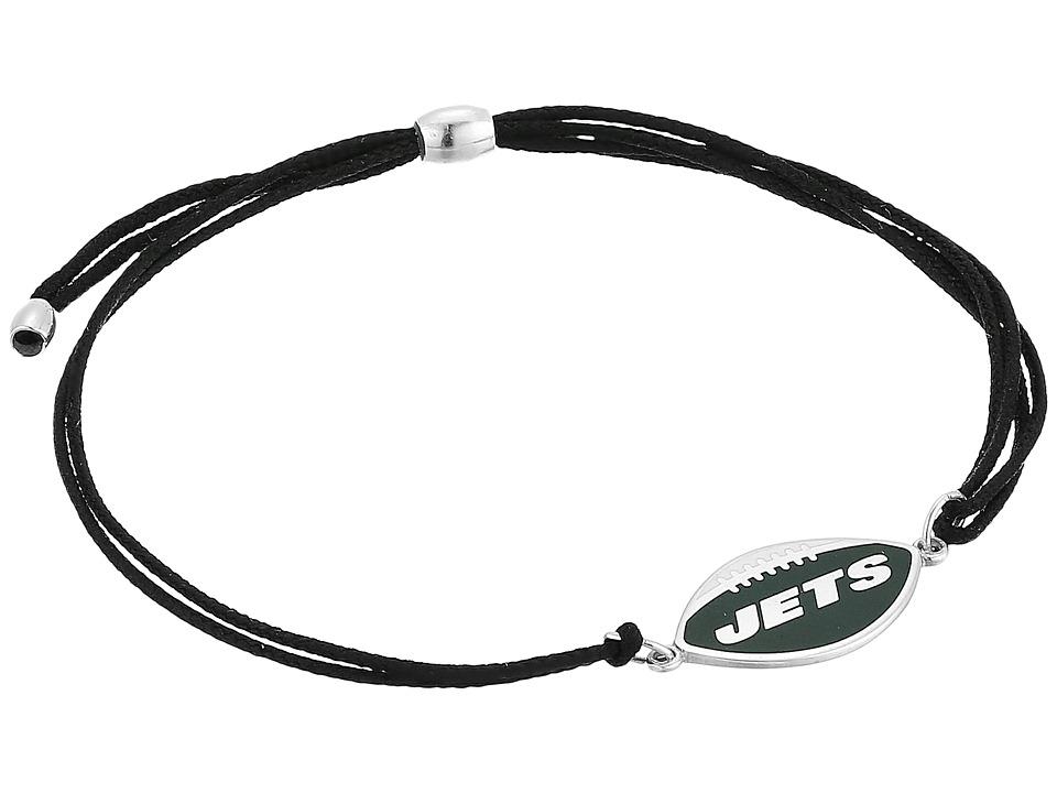 Alex and Ani - Kindred Cord New York Jets Bracelet (Sterling Silver) Bracelet