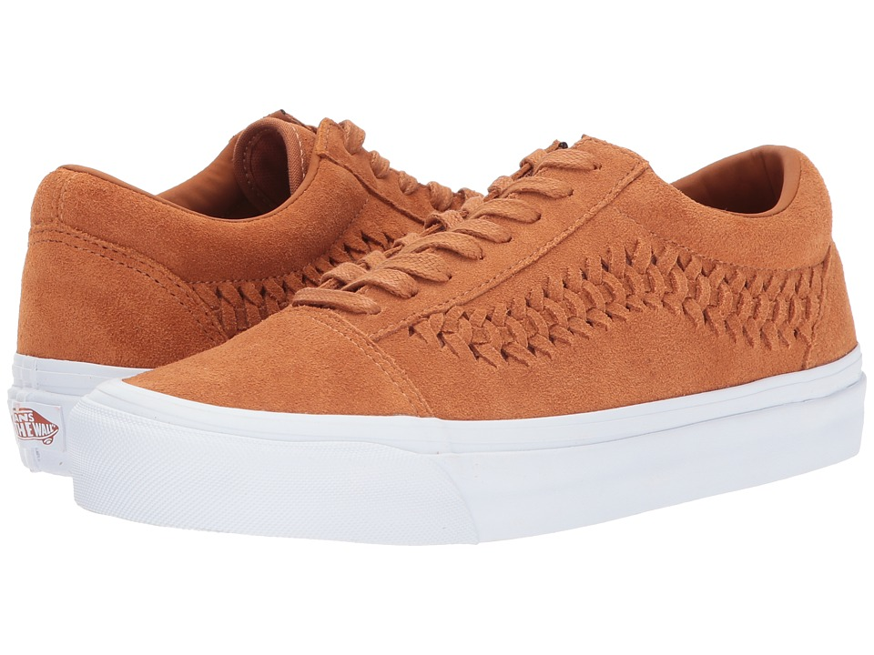 Vans UA Old Skool Weave DX (Glazed Ginger Suede) Shoes
