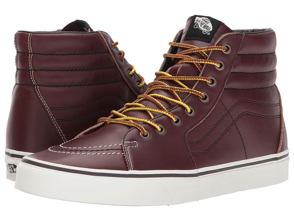 Vans UA Ground Breakers SK8-Hi (Rum Raisin/Marshmallow) Shoes