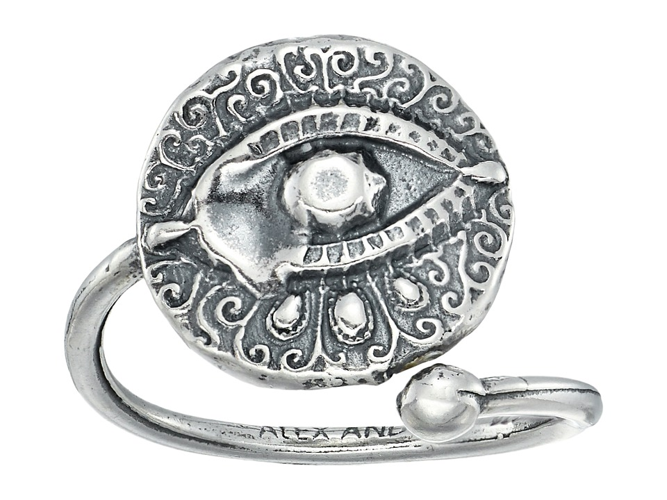 Alex and Ani - Evil Eye Ring Wrap (Sterling Silver) Ring