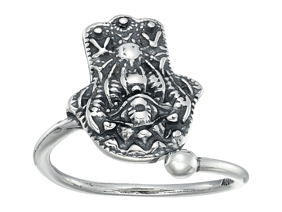 Alex and Ani - Hand of Fatima Ring Wrap (Sterling Silver) Ring