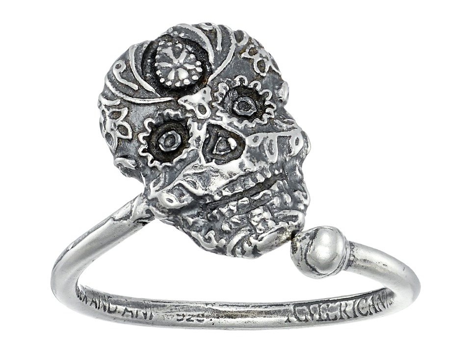 Alex and Ani - Calavera Ring Wrap (Sterling Silver) Ring