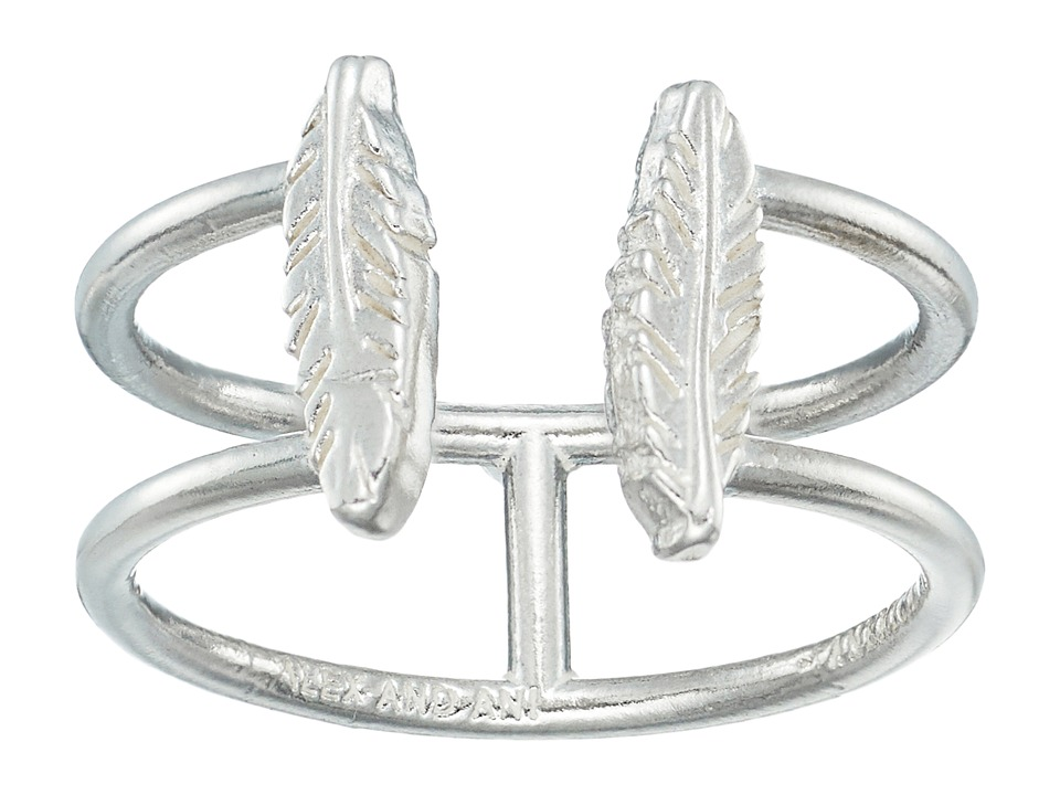 Alex and Ani - Feather Ring (Sterling Silver) Ring