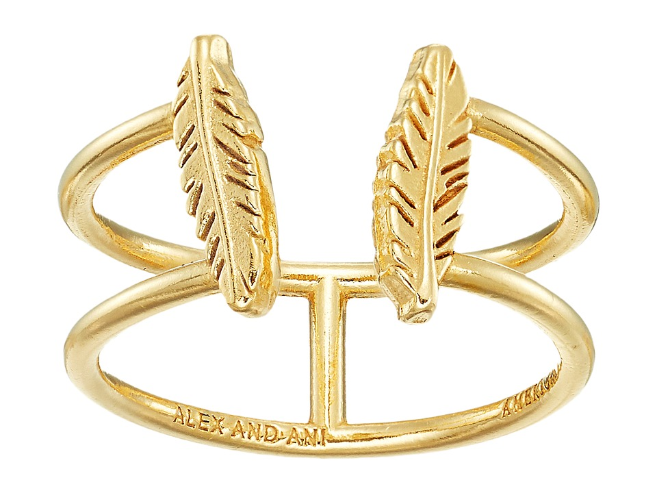 Alex and Ani - Feather Ring
