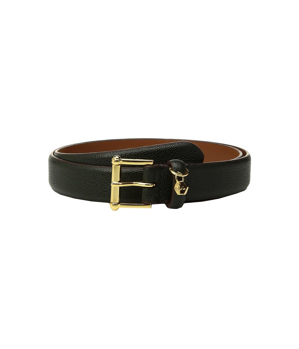 LAUREN Ralph Lauren - 1 Faux Stingray Belt (Green) Womens Belts