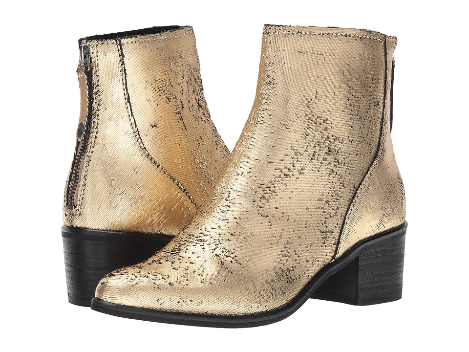 Dolce Vita Cassius (Gold Leather) Women