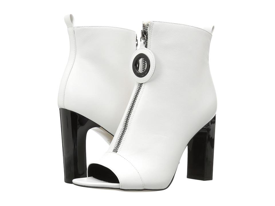 Calvin Klein Minda (Platinum White Cow Silk) Women