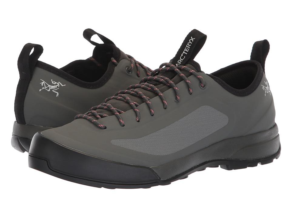 Arc'teryx Acrux SL Approach Shoe (Titan/Lamium Pink) Women's Shoes