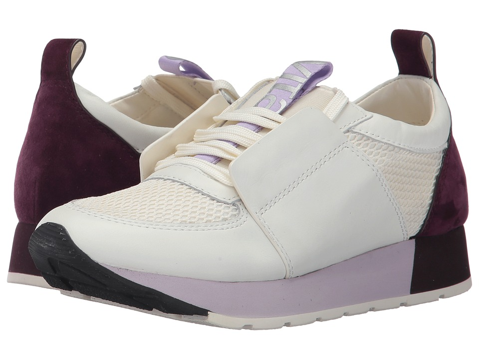 Dolce Vita - Yana (White/Purple Leather) Womens Shoes