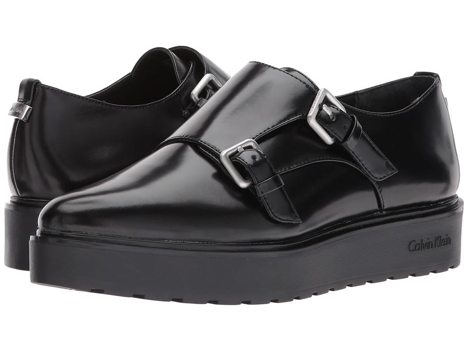 60s Mens Shoes | 70s Mens shoes – Platforms, Boots Calvin Klein - Vespera Black Box Womens Slip on  Shoes $90.99 AT vintagedancer.com