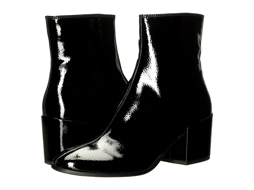 1960s Inspired Fashion: Recreate the Look Dolce Vita - Maude Black Patent Leather Womens Shoes $150.00 AT vintagedancer.com