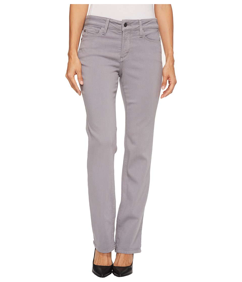 NYDJ Petite Petite Marilyn Straight Jeans in Luxury Touch Denim in Mineral (Mineral) Women