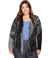 NIC+ZOE - Plus Size Waterfall Four-Way Cardy