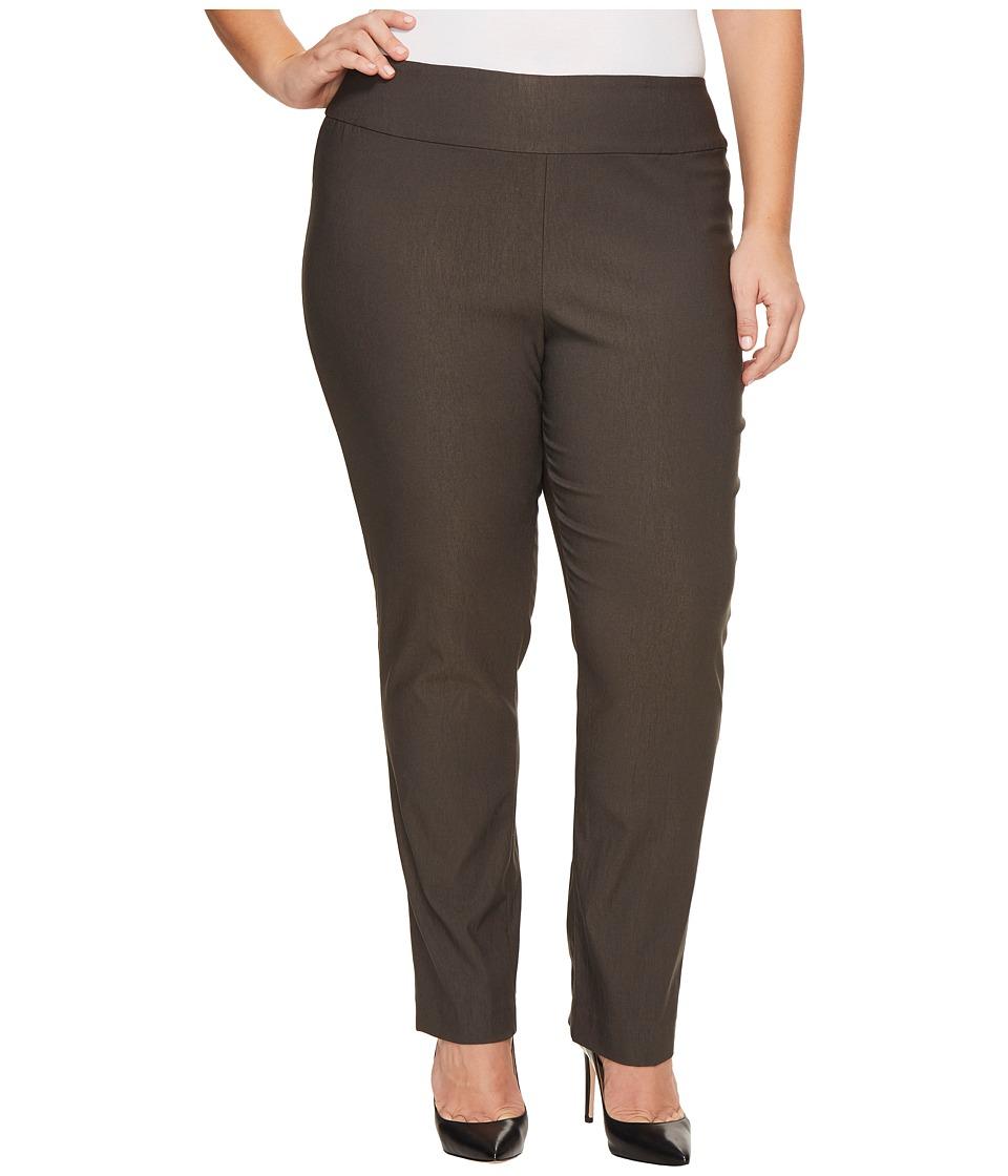 NIC+ZOE Plus Size Wonderstretch Pants (Terrene) Women