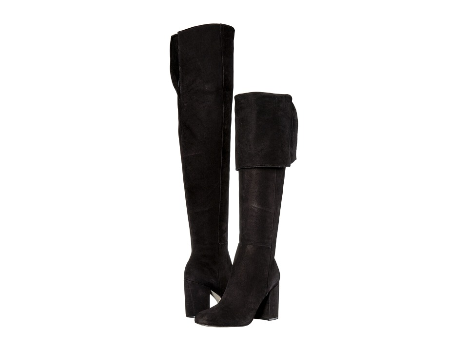 Massimo Matteo Tall Heel Boot (Black) Women