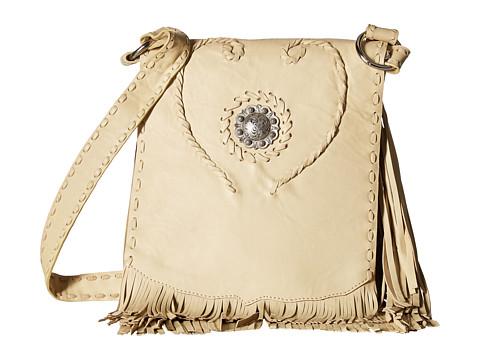 Scully Annie Fringe Handbag - Chamois
