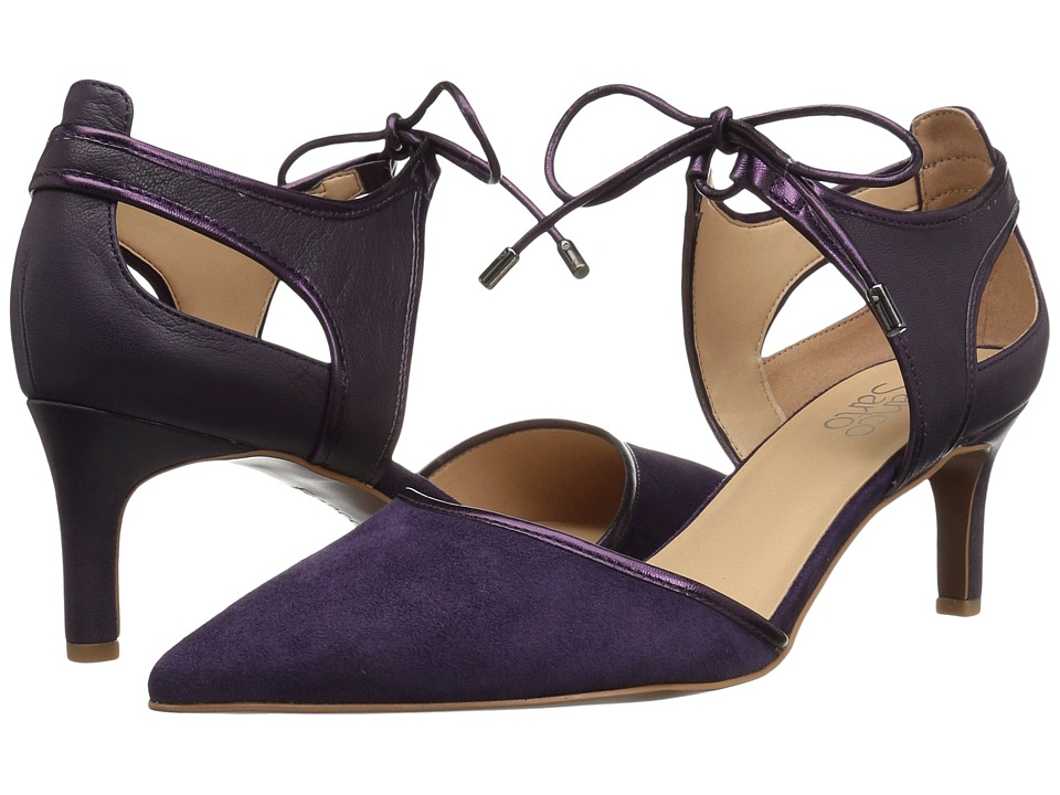 Franco Sarto Darlis (Purple Suede/Velvet) High Heels