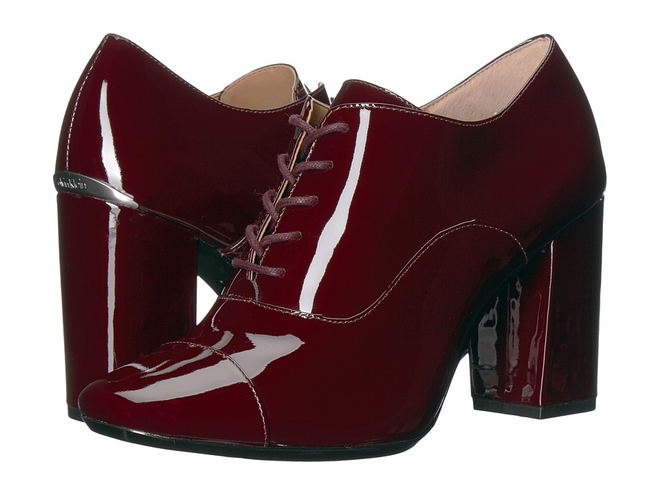 Calvin Klein Cailey (Oxblood Patent) Women