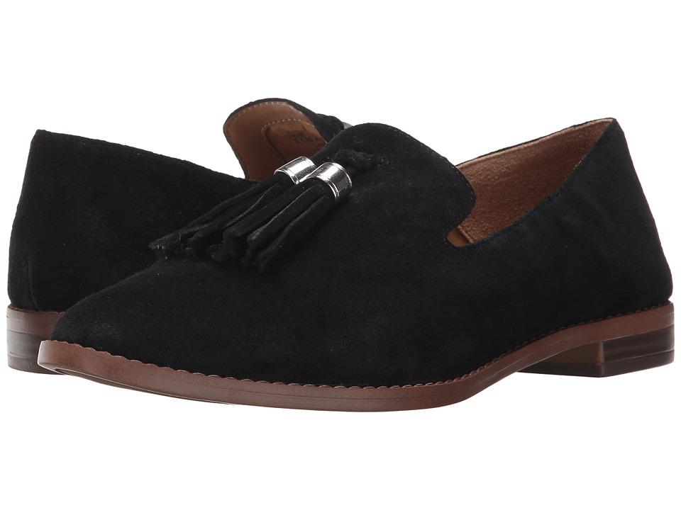 Franco Sarto Hadden (Black Suede) Women's Shoes