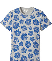 Kenzo Kids - Printed Short Sleeves Tee Shirt (Big Kids)