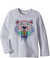 Kenzo Kids - Printed Long Sleeves Tee Shirt (Toddler/Little Kids)