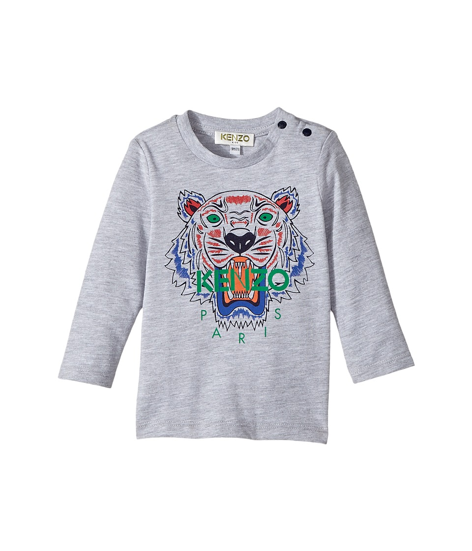 Kenzo Kids - Long Sleeves Tiger Tee Shirt