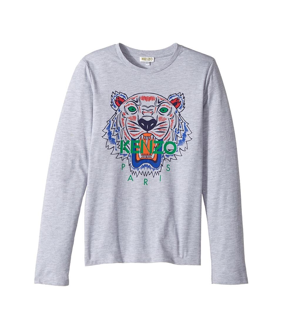 Kenzo Kids - Printed Long Sleeves Tee Shirt