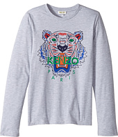 Kenzo Kids - Printed Long Sleeves Tee Shirt (Big Kids)