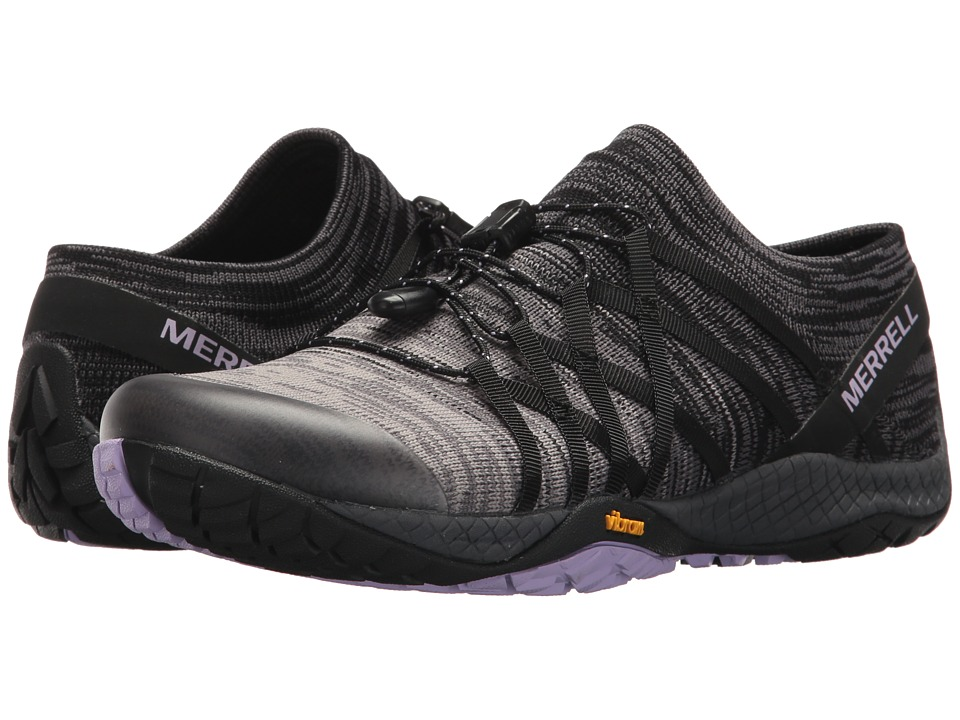MerrellTrail Glove 4 Knit  (Black) Womens Shoes