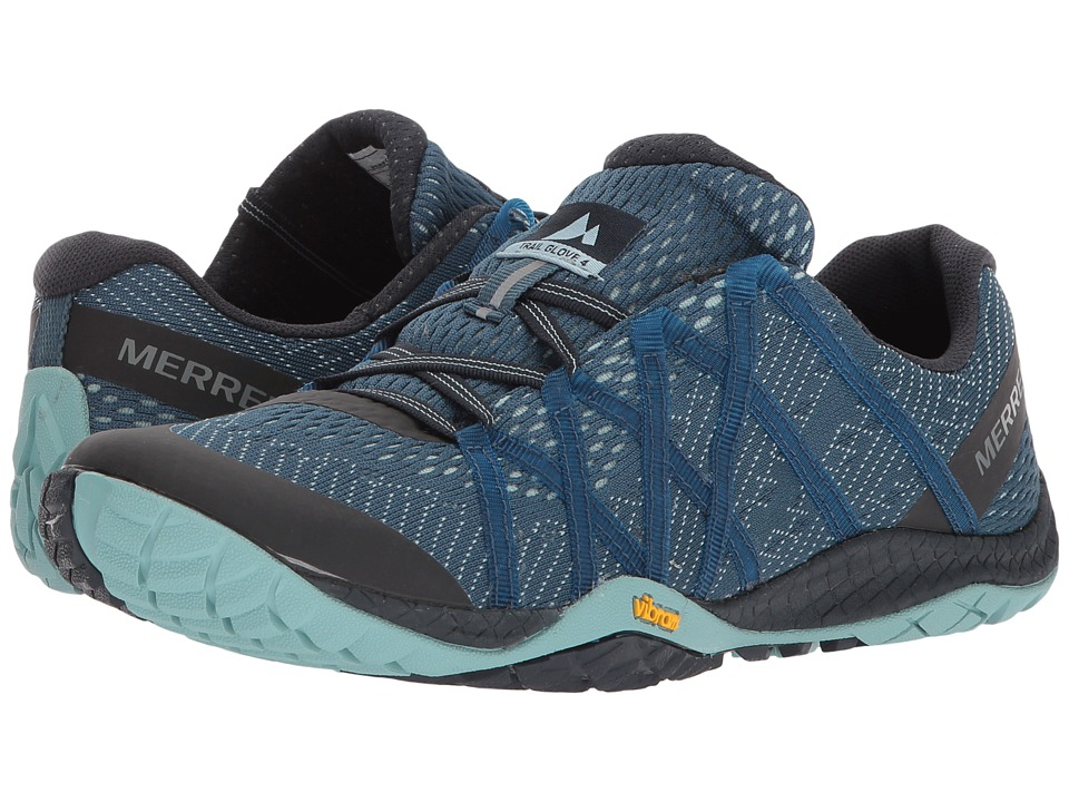 Merrell Trail Glove 4 E-Mesh (Aqua) Women's Shoes