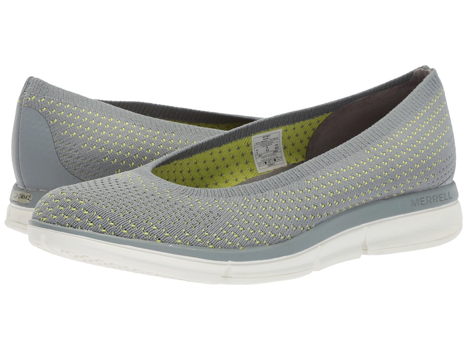 Merrell - Zoe Sojourn Ballet Knit Q2 (Monument) Womens Shoes