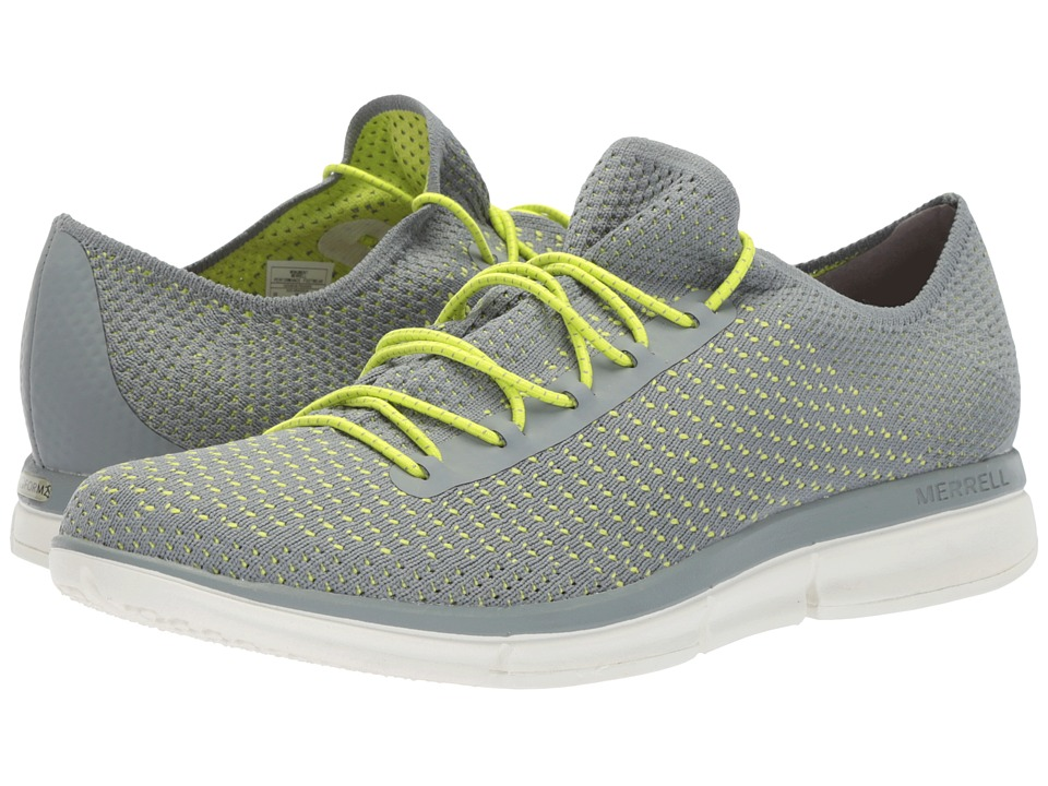 Merrell - Zoe Sojourn Lace Knit Q2 (Monument) Womens Shoes