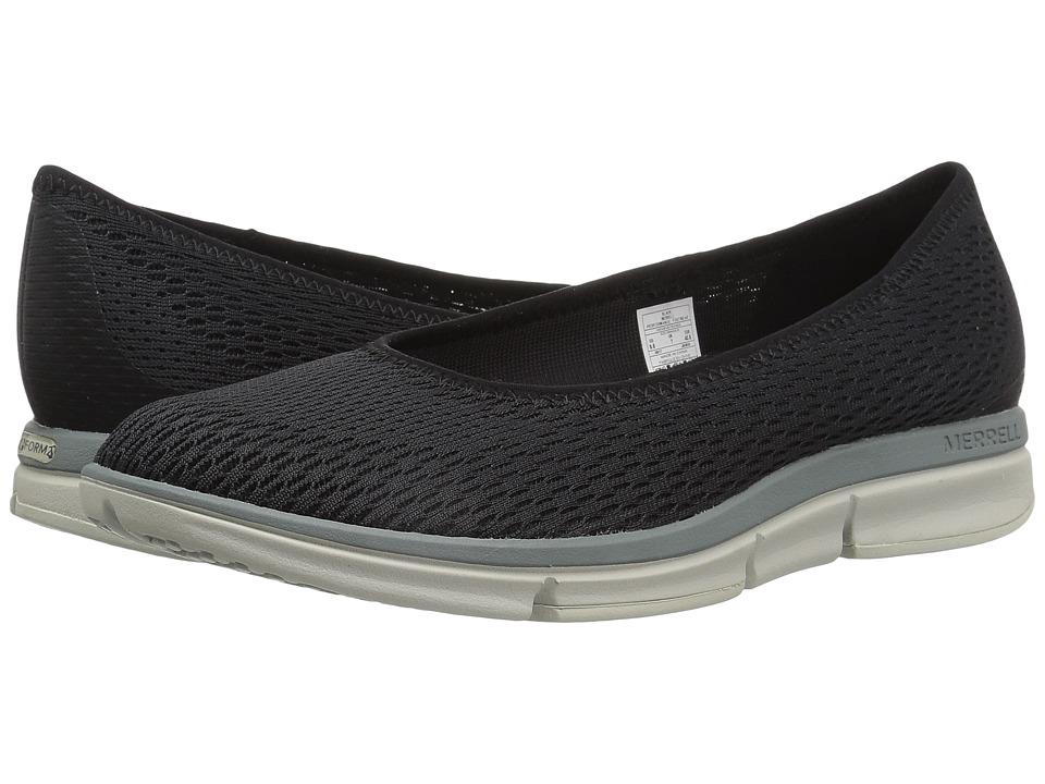 Merrell - Zoe Sojourn Ballet E-Mesh Q2 (Black) Womens Shoes