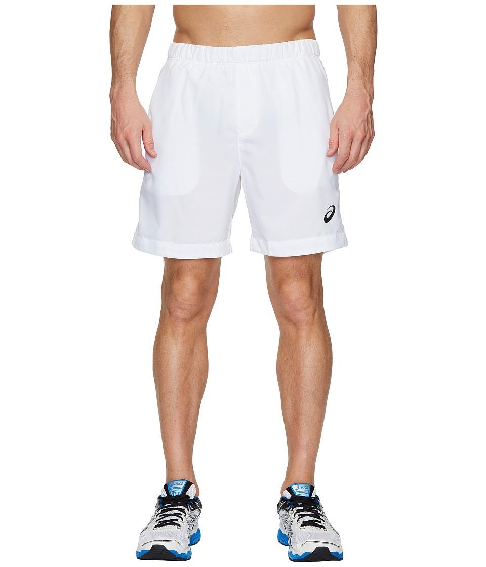 ASICS - Court Shorts (Brilliant White) Mens Shorts
