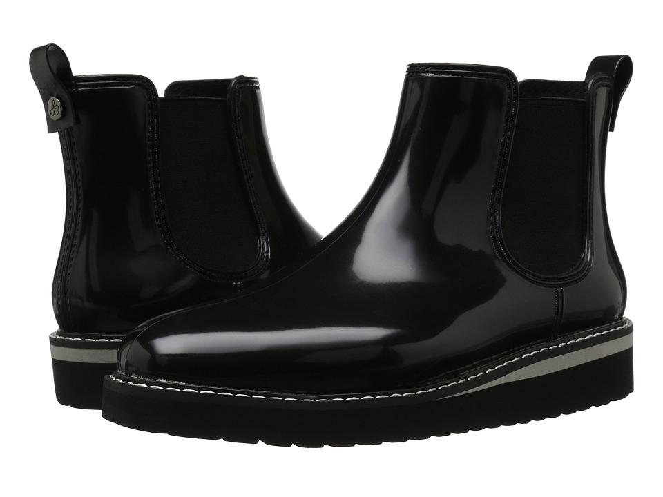Sam Edelman - Kallum (Black PVC/Elastic) Women's 1-2 inch heel Shoes