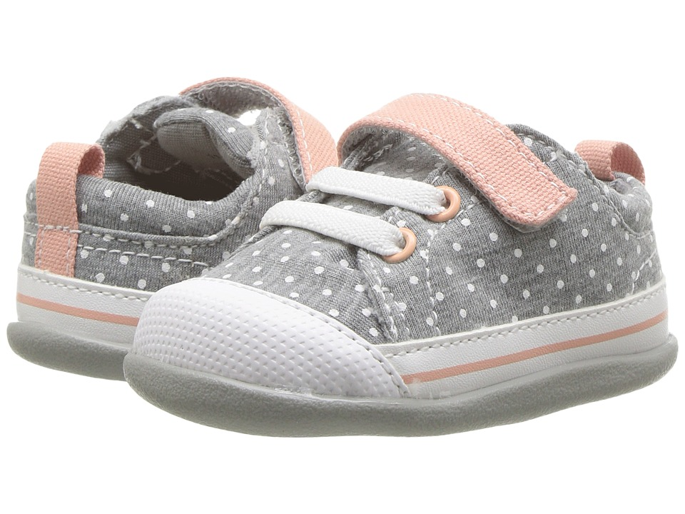 See Kai Run Kids Stevie II (Infant/Toddler) (Jersey Dots) Girl