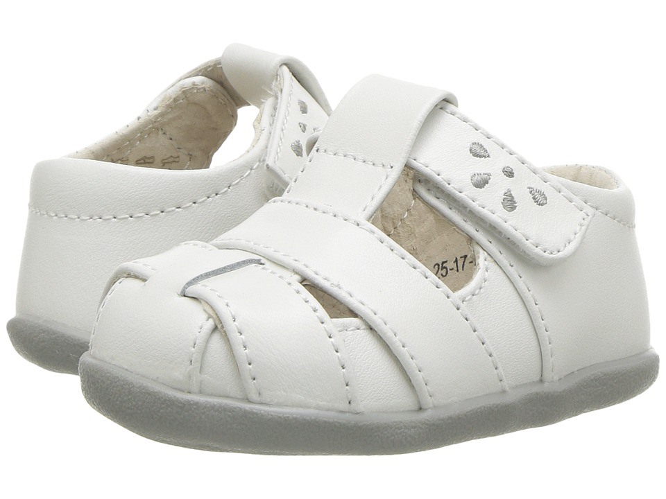 See Kai Run Kids Brook III (Infant/Toddler) (White) Girl