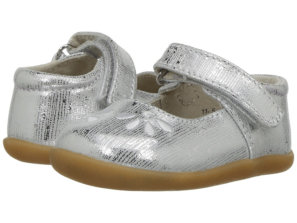 See Kai Run Kids Ginny (Infant/Toddler) (Silver) Girl