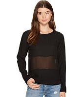 MINKPINK - Twofer Woven Sweater