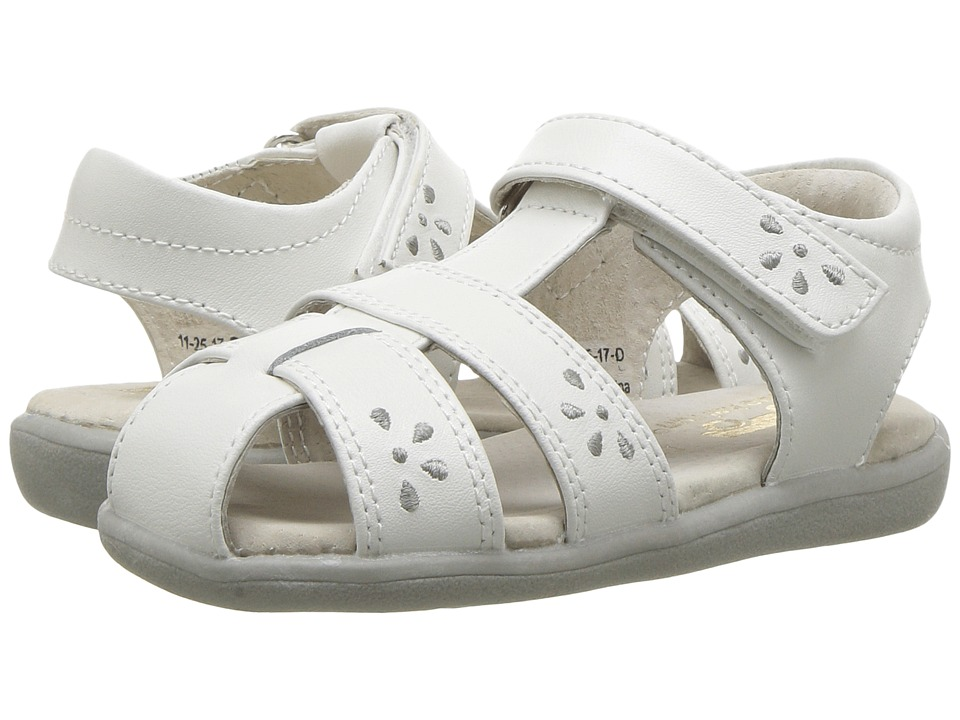 See Kai Run Kids Gloria III (Toddler) (White) Girl