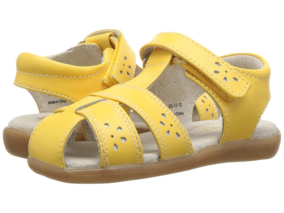 See Kai Run Kids Gloria III (Toddler) (Yellow) Girl