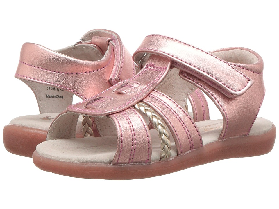 See Kai Run Kids - Hadley (Toddler) (Rose Gold) Girls Shoes