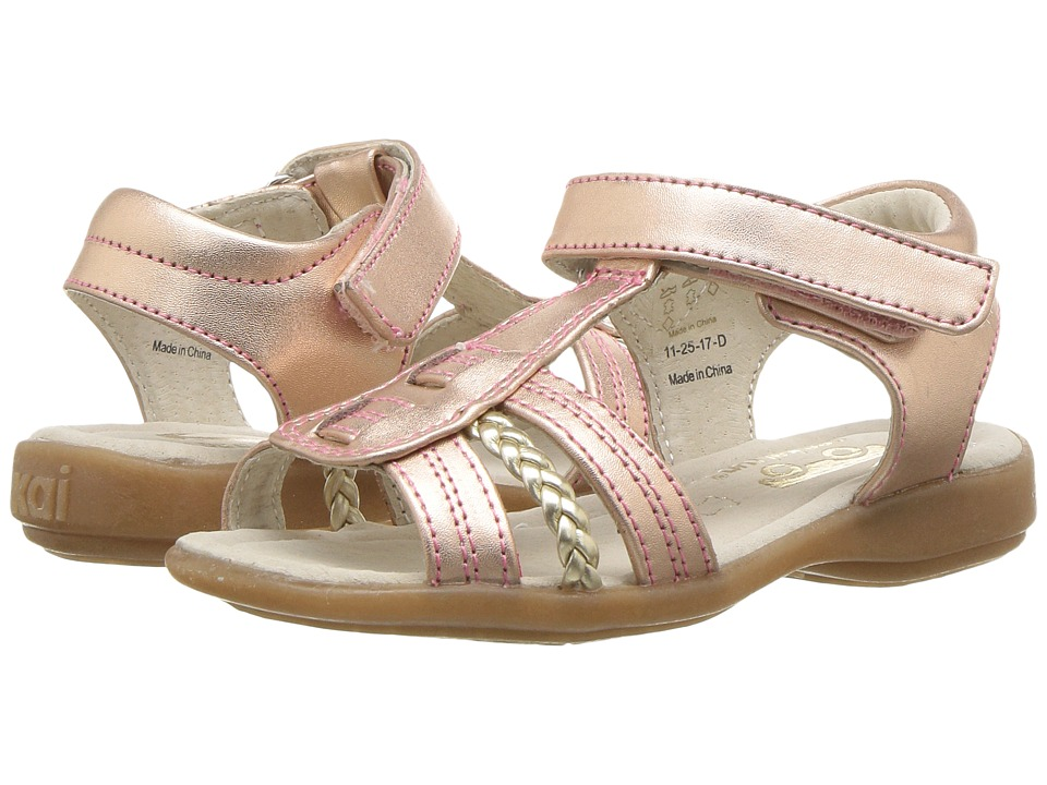 See Kai Run Kids - Hadley (Toddler/Little Kid) (Rose Gold) Girls Shoes