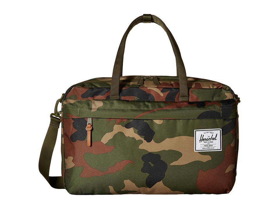 Herschel Supply Co. - Bowen (Woodland Camo 1) Duffel Bags