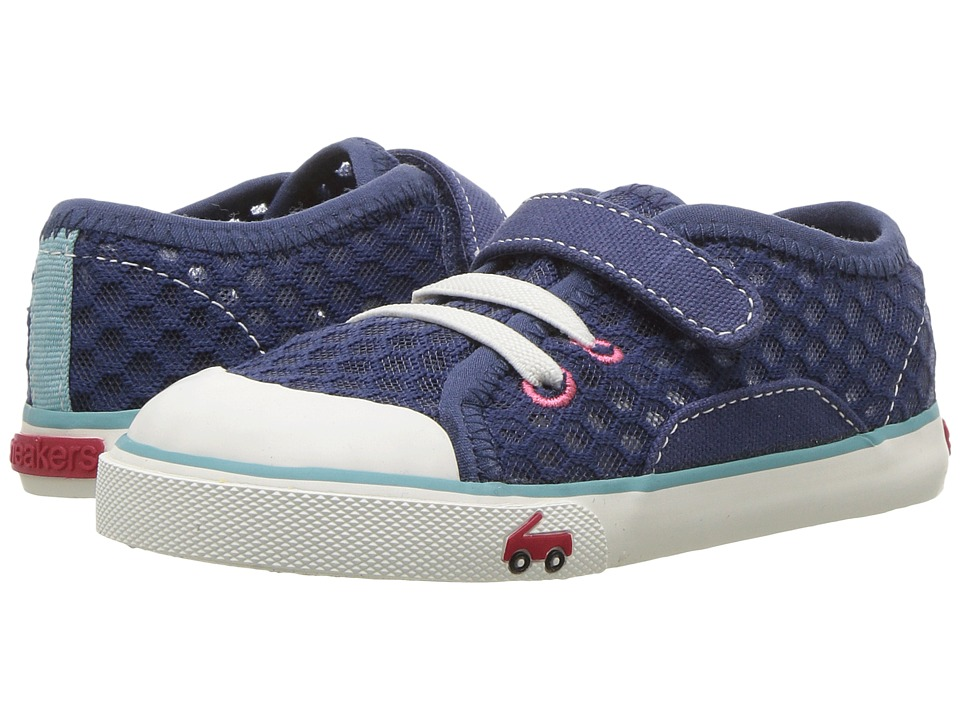 See Kai Run Kids Saylor (Toddler/Little Kid) (Dark Blue) Girl