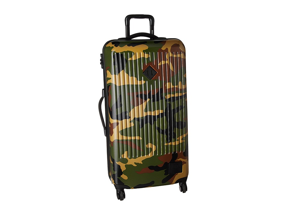 Herschel Supply Co. - Trade Large (Woodland Camo) Pullman Luggage